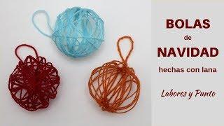 Download Como hacer bolas de Navidad con lana y sin tejer- Labores y Punto Video