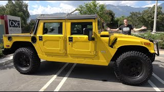 Download Here's Why the Hummer H1 Alpha Is the Ultimate $200,000 Off-Roader Video