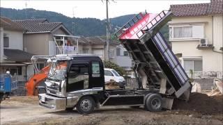 Download *デコトラ* 三代目美産業 ダンプのお仕事 Video