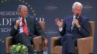 Download Presidents Bush and Clinton at the Presidential Leadership Scholars Graduation Video