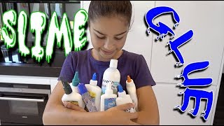 Download Testing Different Glues for Slime and Slime Smoothie! | Grace's Room Video