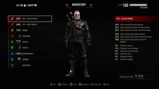 Download The Witcher 3: Wild Hunt Level Cap 100 (Worlds first PS4) /Legendary Grandmaster Gear/All Mutations Video