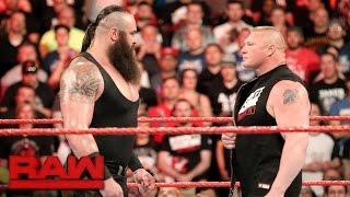 Download Braun Strowman puts Brock Lesnar on notice: Raw, April 3, 2017 Video
