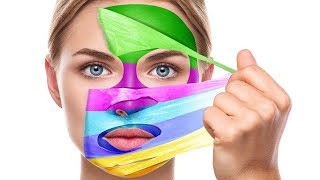 Download Face Mask Painting   Learning Colors for Children by HooplaKidz EDU Video