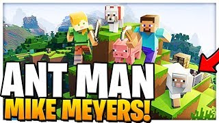 Download ANT-MAN SUPERHERO MIKE MEYERS | Minecraft - Mod Battle (MIKE MYERS MEETS ANT MAN) Video