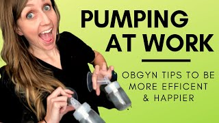 Download Top 5 Doctor Mom Tips for Pumping Breastmilk at Work Video