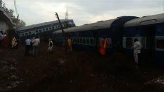 Download India: 23 muertos y decenas de heridos en accidente de tren Video