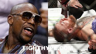 Download FLOYD MAYWEATHER REACTS TO RUMOR MCGREGOR KO'D IN SPARRING; DOESN'T BELIEVE IT AFTER TALK W/ VARGAS Video