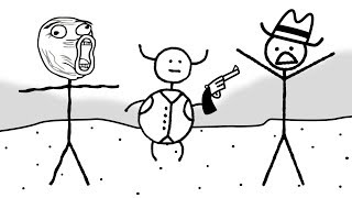 Download STICK MEN AND SPIT BUCKETS | West of Loathing Video