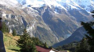Download The Swiss Alps Part 1: Arrival by Train, Gimmelwald, and the First Hike Video