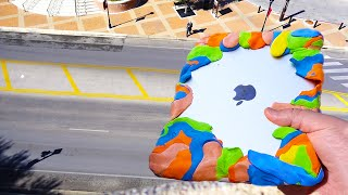 Download Can Silly Putty Protect iPad Air from Extreme 80 FT Drop Test? - GizmoSlip Video