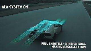 Download Huracán Performante: How the ALA (Lamborghini Active Aerodynamics) works Video