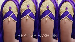 Download Royal look Bridal wear (Party wear ) sleeves design. Video