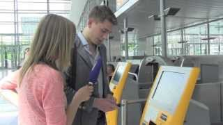 Download Ready for take off! - Gepäckaufgabe am Check-in Automat Video