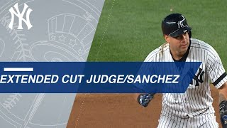Download Extended Cut of Judge, Sanchez giving Yankees lead Video