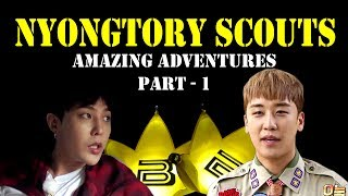 Download Nyongtory Scouts' Amazing Adventures - Part 1 [funny editing] (ENG Sub) Video