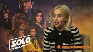 Download Emilia Clarke on Guinness, Game of Thrones and if Qi'ra will ever return to Star Wars Video