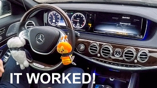 Download Awesome Car Life Hack - Now My Mercedes Can Drive Itself Forever! Video