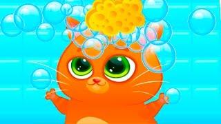 Download КОТЕНОК БУБУ #65 играем в игры виртуальный питомец развлекательное видео для детей про котиков #КИД Video