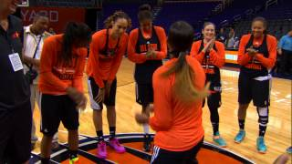 Download WNBA All Stars Let Loose During Practice Video
