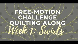 Download Successful with Swirls: Free-motion Challenge Quilting Along Week 1 with Angela Walters Video
