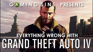 Download Everything Wrong With Grand Theft Auto IV (GTA 4) in 11 Minutes or Less | GamingSins Video