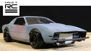 Download 1/24 RC Drift Missile Firebird Build: Completing Body, Painting/Weathering, Dents, Accessories (E25) Video