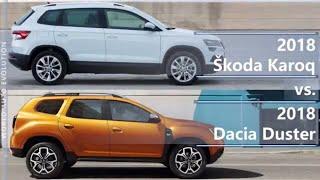Download 2018 Skoda Karoq vs 2018 Dacia Duster (technical comparison) Video