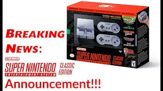 Download Breaking News Super Nintendo Classic Edition Announcement Video