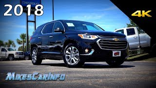 Download 2018 Chevrolet Traverse Premier - Ultimate In-Depth Look in 4K Video