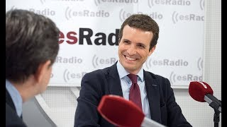Download Federico Jiménez Losantos entrevista a Pablo Casado Video