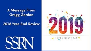Download SSRN 2018 Year In Review Video