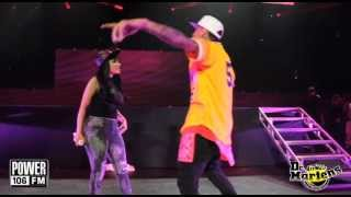 Download PowerHouse 13 - Chris Brown and Nicki Minaj Perform ″Take It To The Head″ Video