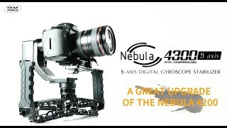 Download Nebula 4300 5-axis gimbal: a great upgrade of the Nebula 4200 Video