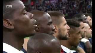 Download France and England fans sing La Marseillaise at Wembley stadium Video