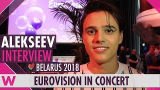 Download ALEKSEEV (Belarus 2018) Interview | Eurovision in Concert 2018 Video