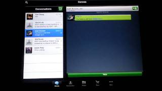 Download textPlus, free SMS MMS Group texting, real phone number, iPad / iPad 2 / iPhone / iPod Touch HD Video