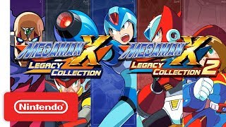 Download Mega Man X Legacy Collection 1 & 2 Announcement Trailer - Nintendo Switch Video