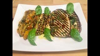 Download Verdure Grigliate; Melanzane, Zucchine e Peperoni Video