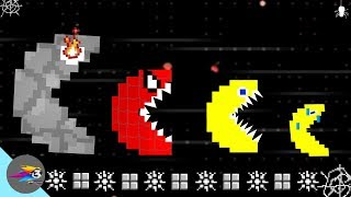 Download Pacman Vs New Monsters Power - Battle Video