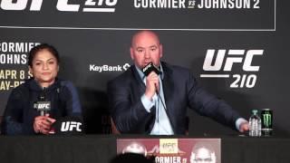 Download UFC 210 Post-Fight Press Conference: Dana White, Cynthia Calvillo - MMA Fighting Video