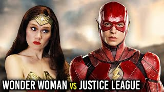 Download WONDER WOMAN REACTS TO JUSTICE LEAGUE! (Parody) Video
