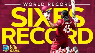 Download WORLD RECORD Number Of Sixes In An Innings | Windies Finest Video
