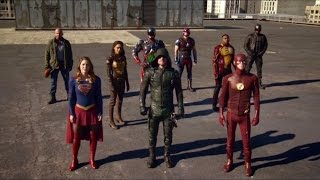 Download The Crossover - Team Arrow, Team Flash, Team Legends and Supergirl vs The Dominators -PART2- Video