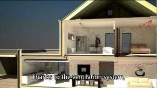 Download The Ventilation System of a Passive House (subtitled) Video