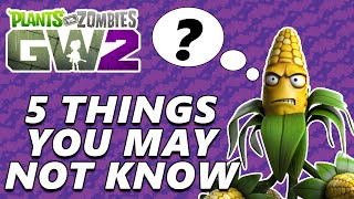 Download 5 Things You May Not Know About Plants vs Zombies Garden Warfare 2 Video