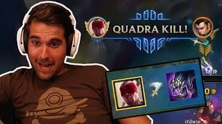 Download Gripex - INSANE LEE SIN BARON STEAL + QUADRA KILL! Video