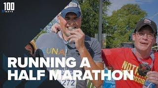 Download Running My First Half Marathon   100 Days Video