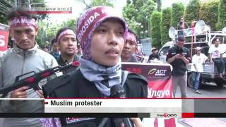 Download Muslims in Asia protest Rohingya treatment Video