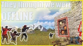 Download THEY THOUGHT WE WERE OFFLINE | Vanilla Rust Video